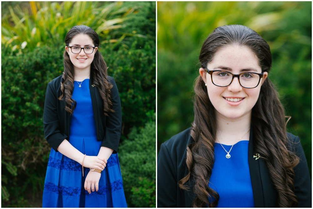 collage portrait - Niamh's Confirmation Day - Sligo