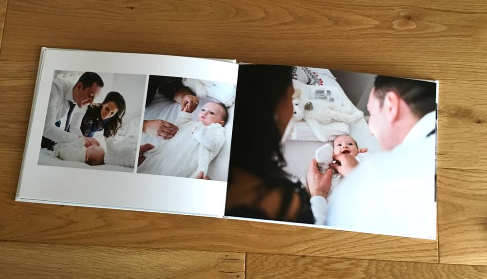 christening baptism photobook album