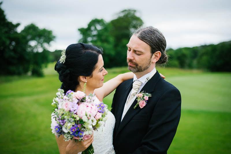 Wedding portrait castle dargan sligo E&P-1