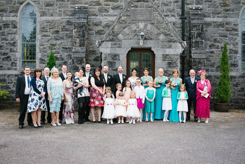Wedding photographer Sligo Castle Dargan-44