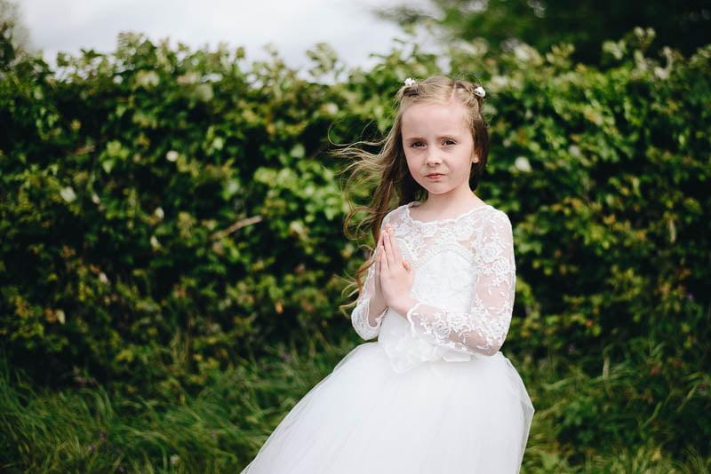 first communion portrait ballisodare Laura-1