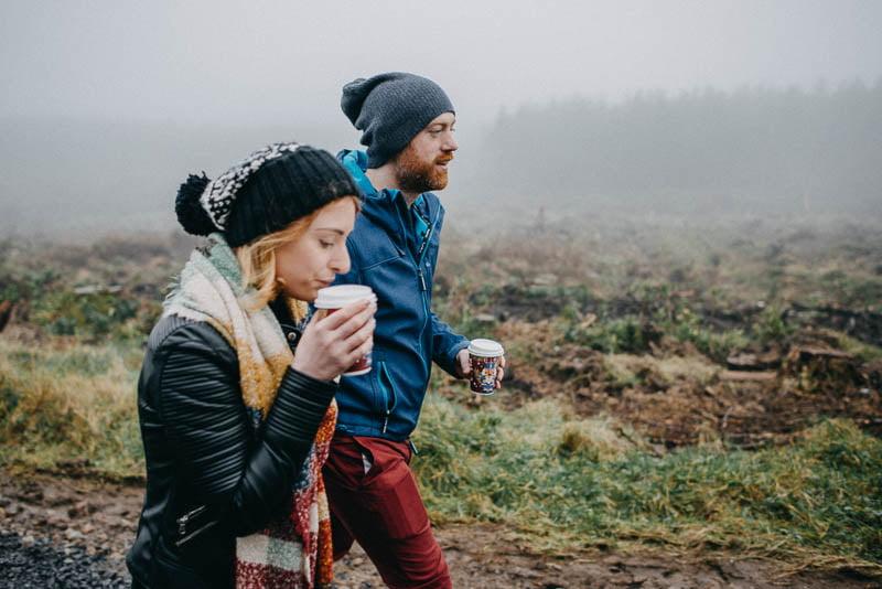 benbulben forest walk engagement