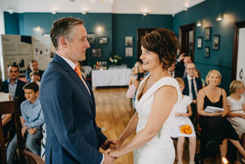 Civil Wedding Ceremony in Yeats Society in Sligo