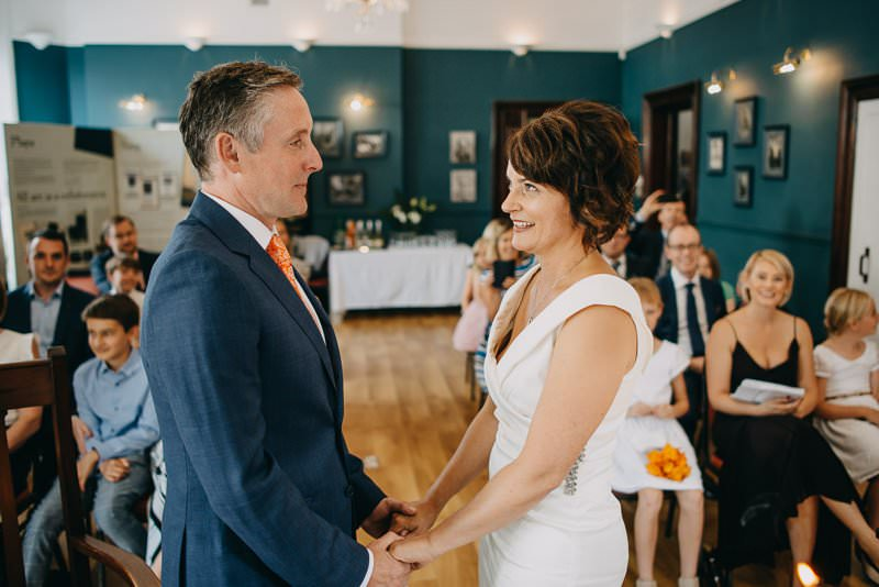 Civil ceremony in Yeats Society in Sligo