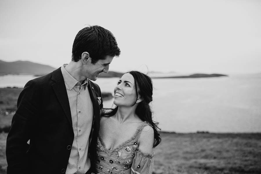 irish wedding photography black and white