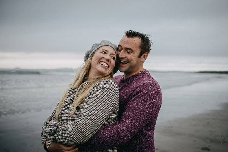 Rosses Point Beach Engagement Photography Session