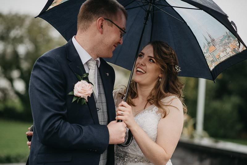 wedding in clayton hotel