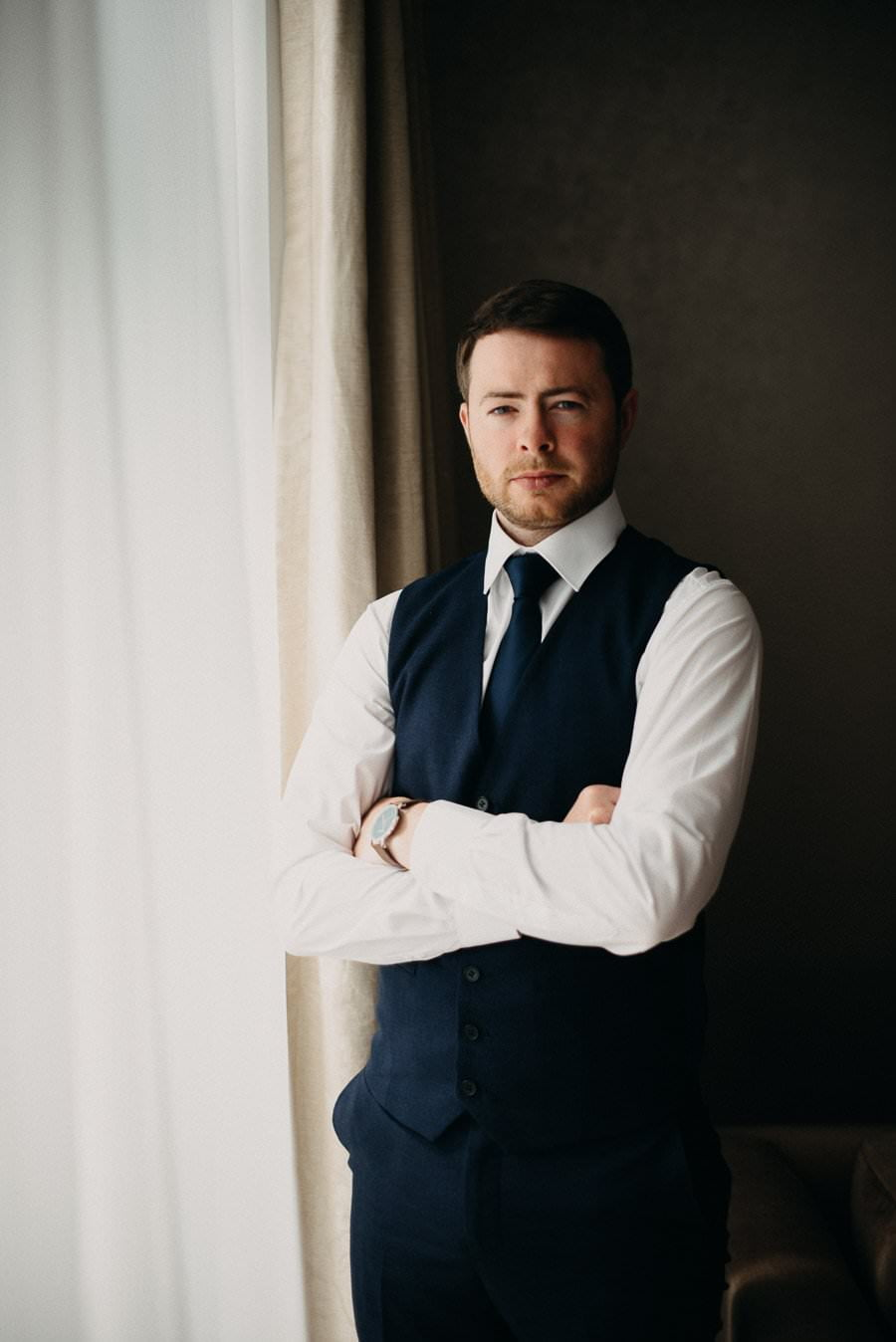groom in the g hotel, galway