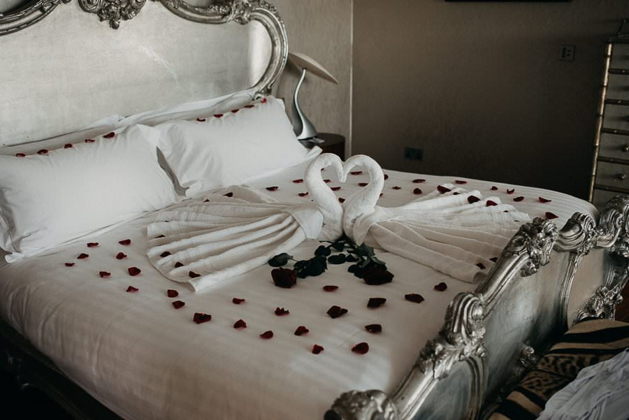 the luxurious bridal suite in the g hotel galway