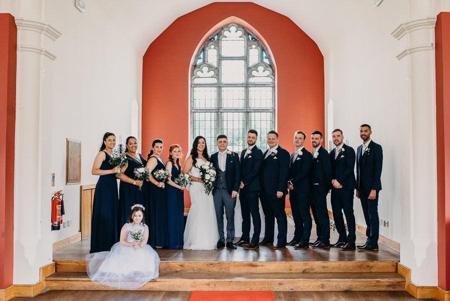 wedding portrait in clayton hotel sligo
