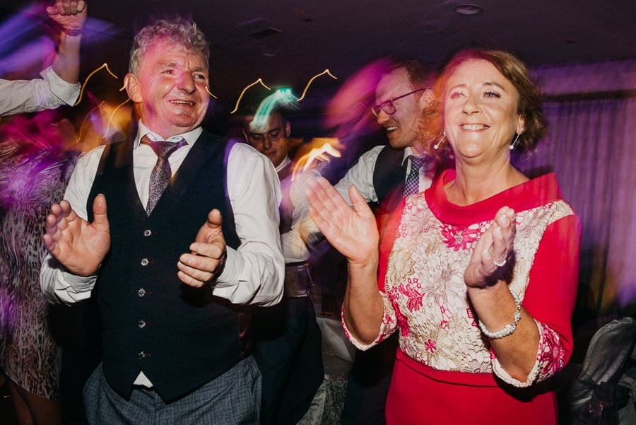 dancing on wedding in clayton hotel sligo