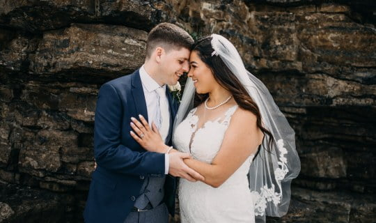 rosses point beach wedding session