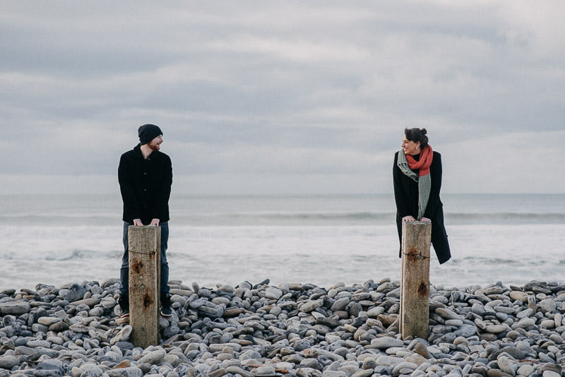 Strandhill Beach engagement session