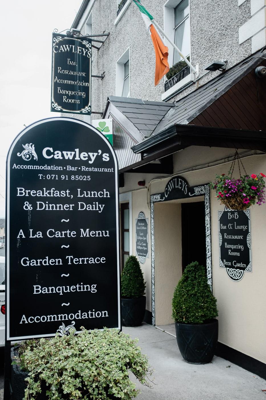 cawleys hotel sligo